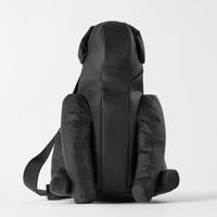 ZARA 17809004040 女包款黑色动物形状斜挎包