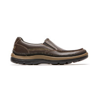 Rockport/乐步休闲皮鞋男一脚蹬懒人鞋乐福鞋舒适平底单鞋CG8847