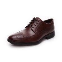 Rockport/乐步真皮正装皮鞋 商务休闲雕花男鞋低帮鞋新品M77290