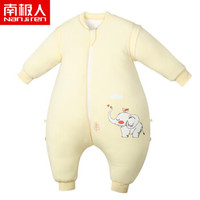 Nan ji ren 南极人 101960009050 婴儿睡袋 (黄色)