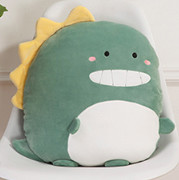 恐龙抱枕可爱毛绒玩具女孩生日礼物床上陪你睡觉暖手小号玩偶公仔