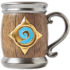 暴雪Blizzard 炉石传说 旅店老板酒桶杯 马克杯水杯酒杯正版周边