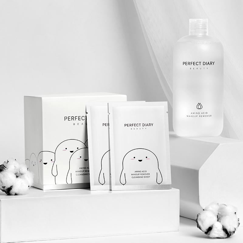 Perfect Diary 完美日记 白胖子系列氨基酸温和净澈卸妆湿巾 30片