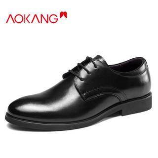 奥康(Aokang)男士商务正装系带皮鞋183210108+凑单品