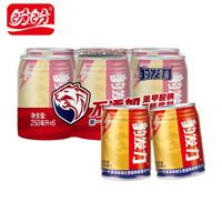 盼盼 豹发力 维生素植物能量饮料 罐装 运动饮料健身 整箱装 250ml*6罐 整提
