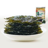 来伊份亚米传统风味海苔15g休闲脆片小零食