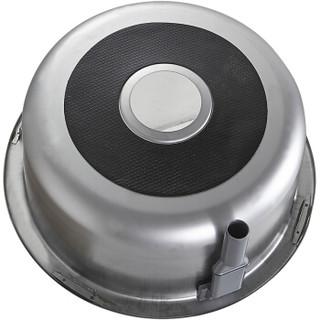 弗兰卡(Franke)厨房圆形水槽单槽 304不锈钢洗碗盆洗菜盆  44×44cm LUX610-05A