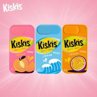 kiskis酷滋无糖薄荷糖口香糖清新口气清凉约会接吻糖果小零食虚空