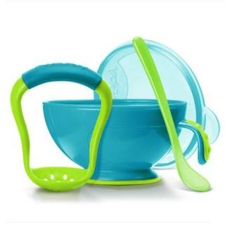 Nuby 努比 宝宝辅食研磨器碗带勺子套装