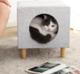 有品米粉节、历史低价:小兽星 宠物猫窝换鞋凳 35.5*35.5*38cm 149元包邮(需用券)