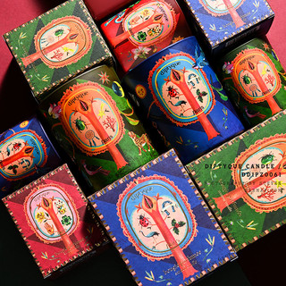 diptyque2019冬季圣诞限量彩色香氛蜡烛礼盒香室内香薰