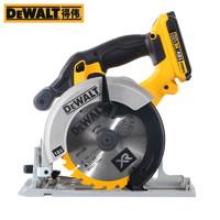 DEWALT 得伟 电圆锯锂电木工圆锯小型6寸手提木材电锯切割机DCS391