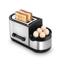 北欧欧慕(nathome)家用多士炉 全自动多功能早餐烤面包机NDS12