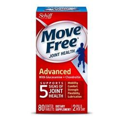 Move Free 氨糖软骨素 维骨力 红瓶基础版 80粒