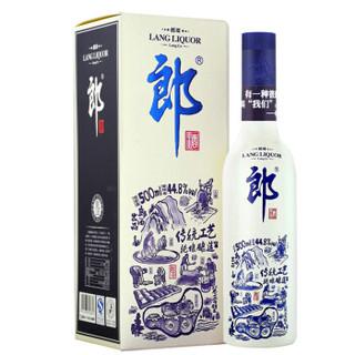 郎酒 郎哥 蓝款 44.8度 酱香型白酒 500ml *6件
