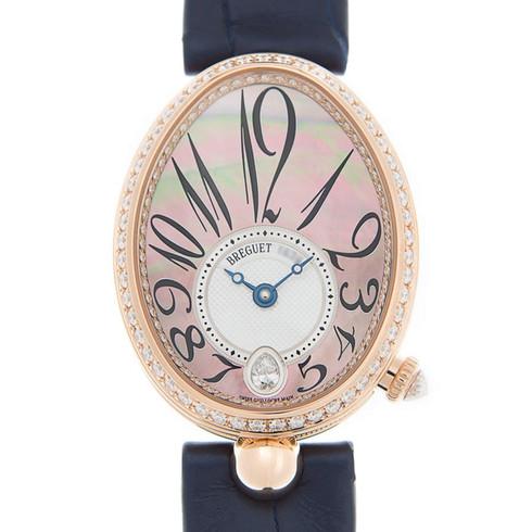 BREGUET 宝玑 那不勒斯王后系列  自动女士手表