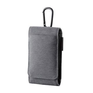 Elecom/宜丽客多手机收纳包便携充电宝保护套播放器双层收纳包