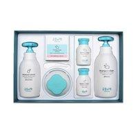 宫中秘策 婴儿套盒宝宝儿童洗护沐浴露保湿乳洗脸皂礼盒装温和 六件套 *3件