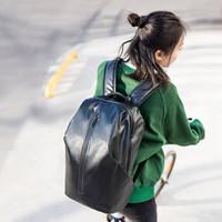 YOUPIN 小米有品 90分全天候机能城市背包 通勤出行透气减震舒适双肩包 大容量电脑包 暗夜黑 (黑色)