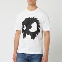 ALEXANDER MCQUEEN Monster Big 怪兽印花 男款T恤
