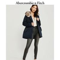 Abercrombie & Fitch 女装 秋冬新品日常中长款派克大衣 301649-1 AF