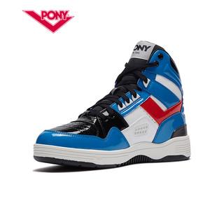PONY篮球鞋波尼春季女款运动鞋经典耐磨M-100高帮休闲鞋01W1M101