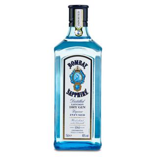 京东PLUS会员 : Bombay 孟买 蓝宝石金酒 750ml *3件