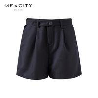 TIMECITY 女士毛呢短裤