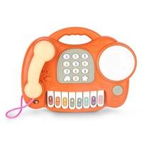 雨儿 婴幼儿手拍鼓电话玩具