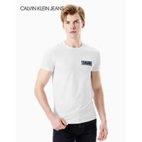 Calvin Klein Jeans J313392 男士简约品牌Logo短袖T恤