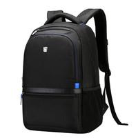 OIWAS 爱华仕 OCB4281 商务双肩包电脑包 黑色 14.5寸