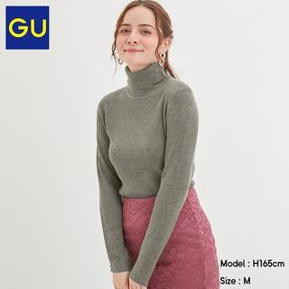 GU 极优 318712 女士罗纹打底衫