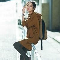 UNIQLO 优衣库 420551 女装 运动连帽连衣裙(长袖)