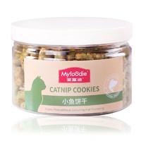 麦富迪 小鱼饼干 猫咪零食 55g *27件