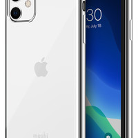 Moshi摩仕iPhone11ProMax手机壳新款苹果11Pro Max简约透明创意硅胶边框保护壳iPhone11全包防摔软壳手机壳