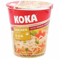 KOKA 可口 方便面 鸡汤味 70g*4杯