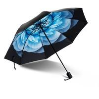 Worldlife 和匠 黑胶折叠晴雨伞 直径93cm