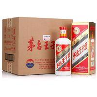 贵州茅台 53度茅台王子酒500ml*6瓶酱香型白酒整箱装 *2件