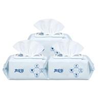 纳爱斯 婴儿新生儿手口湿巾  80抽*3包(有盖)