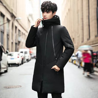 KARALCHI/ 卡郎琪 中长款防风保暖新款休闲外套