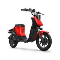 小牛 电动车UQi新国标版都市版电动自行车代步电瓶车智能锂电电动踏板车 红色 都市标准新国标版