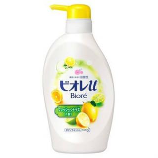 Biore 碧柔 柠檬沐浴露 480ml