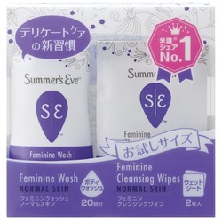 SUMMER'S EVE 女性护理套装(洗液 59ml+2片湿巾)