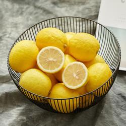 果天壹 安岳黄柠檬 净重5.3-5.5斤