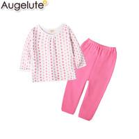 Augelute 50552  男女宝宝长袖两件套