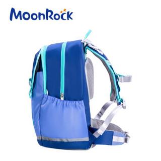 MoonRock 梦乐 MRC1 儿童双肩书包 深蓝/浅蓝