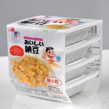 鲜聚汇 日本原装进口纳豆套餐24盒*40g北海道拉丝即食无糖纳豆