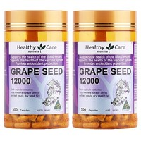 Healthy Care 葡萄籽胶囊 12000mg 300粒*2瓶