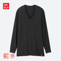 UNIQLO 优衣库 男士保暖内衣UQ408116000 黑色 175/100/L