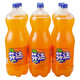 芬达 橙味汽水 2L*6瓶 *2件 38元